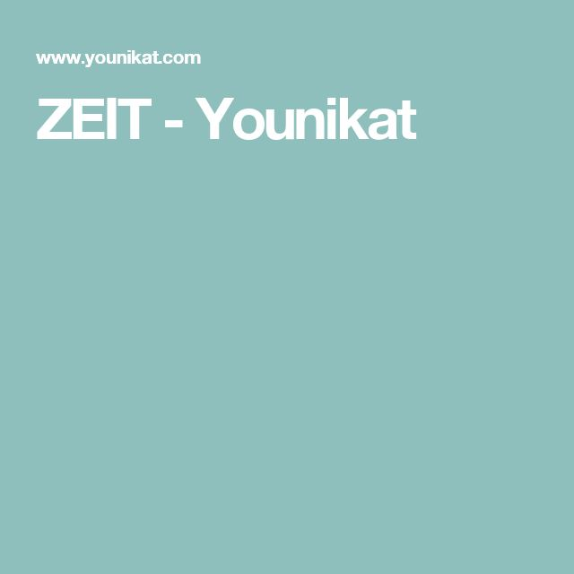 ZEIT - Younikat