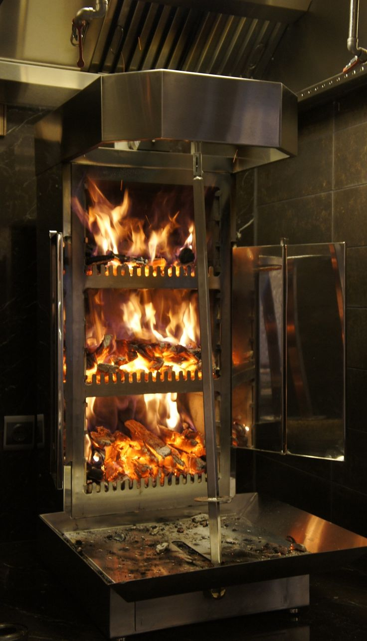 vertical rotisserie wood fired - Google Search