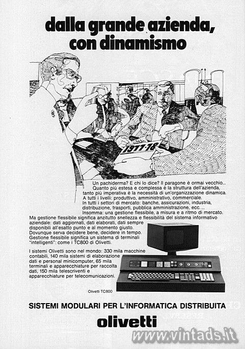 Olivetti TC800, 1977