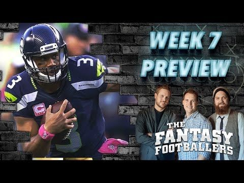 Week 7 Fantasy Forecast, Starts of the Week Ep. #117 - The Fantasy Footballers - Fantasy FootBall Videos