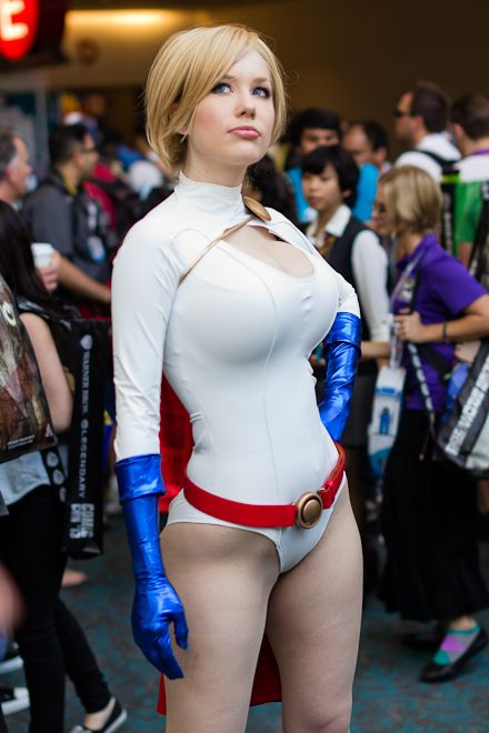 another Crystal Graziano as Power Girl by Victor Gamez