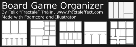 General tips and tricks on making foamcore organizers | Board Game Organizer