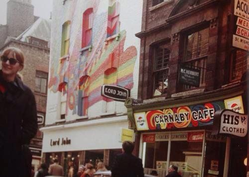 Shoot of Carnaby St., 66/67.