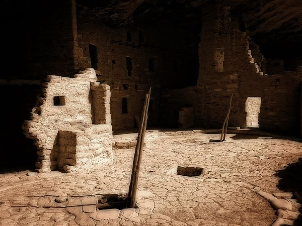 """Ancient Sanctuary"" one of my latest of a photograph taken of a kiva at Mesa Verde National Park, CO"