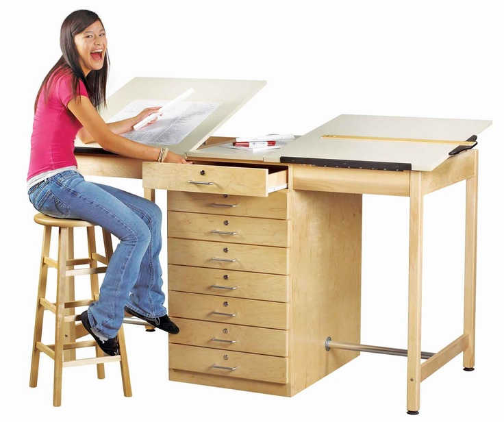 17 Best Images About Art Tables And Storage On Pinterest