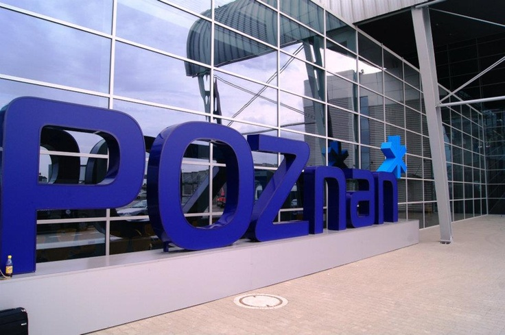Poznan Poland, Lotnisko Ławica front