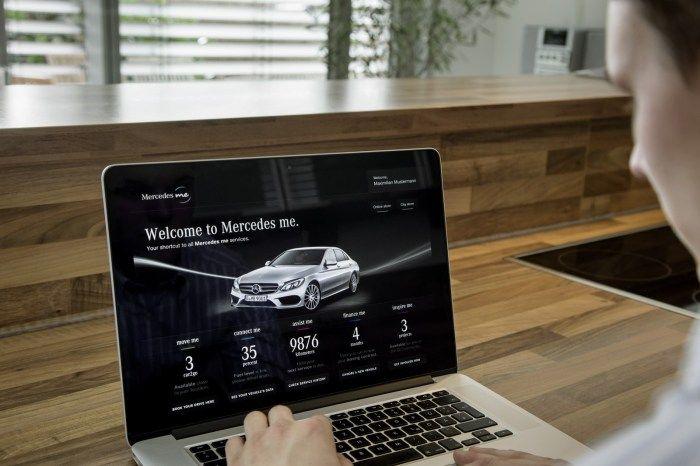 Mercedes me: Η Mercedes ανακοίνωσε τη νέα πλατφόρμα Mercedes Me, η οποία είναι διαθέσιμη σε PC, tablet και smartphone και προσφέρει στον ιδιοκτήτη ενός αυτοκινήτου της Mercedes-Benz μια πληθώρα υπηρεσιών σε πέντε τομείς, σε αυτούς της κινητικότητας, τη συνδεσιμότητας, των παροχών υπηρεσιών, της χρηματοδότησης ,και της έμπνευσης.