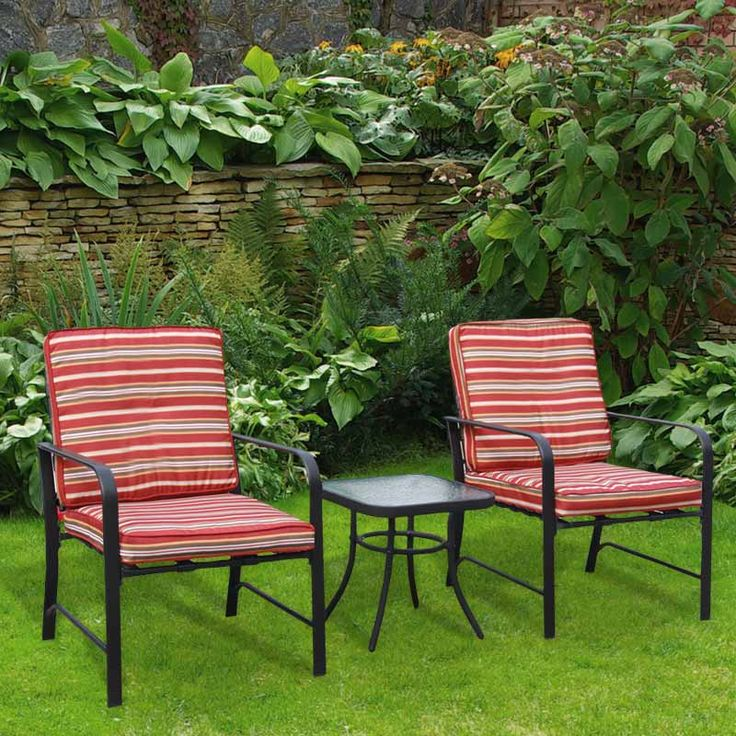 This Extremely Comfortable And Stylish Doral Designs 3 Piece Bistro Set  Will Compliment Any Patio,