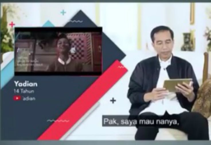 Ada Keanehan di Vlog #JokowiMenjawab Soal Hokage dan Konoha