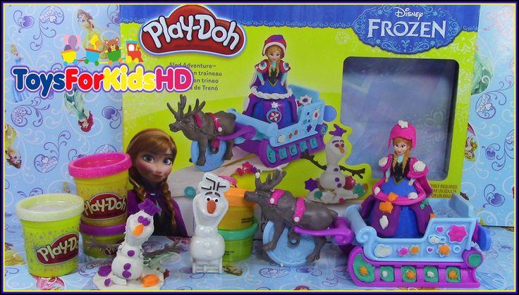 Play doh Frozen Aventura en Trineo Play doh Frozen Sled Adventure