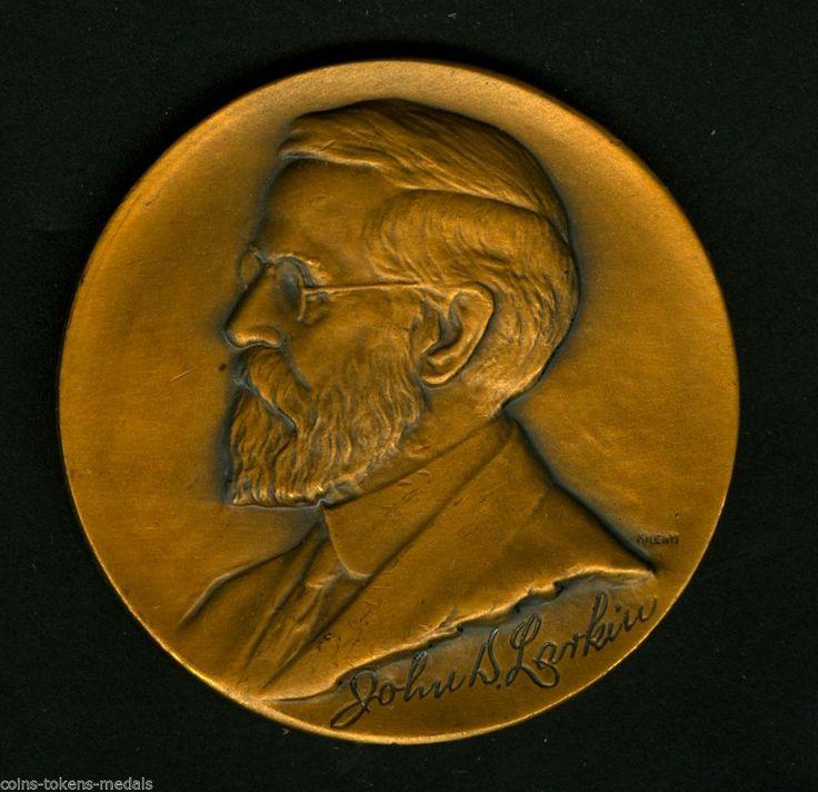 John D. Larkin Soap Co. 1925- Buffalo, NY- Large Bronze  Medal 42 mm