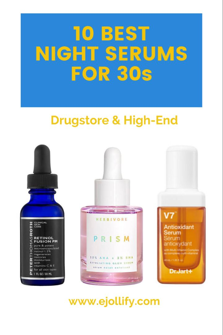 10 Best Night Serums For 30s For All Skin Types 2020 Best Night Serum Night Serum Best Anti Aging Serum