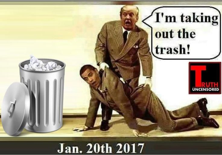 taking out the trash jan 20th 2017