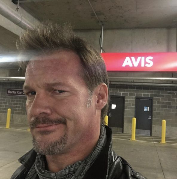 """Chris Jericho [January 14th, 2017] When the Avis Car Rental lady asks """"Anybody ever tell you, you look like Chris Jericho?"""" while she's looking at my license that says my name is """"Chris"""" and there's a WWE show in town…"""