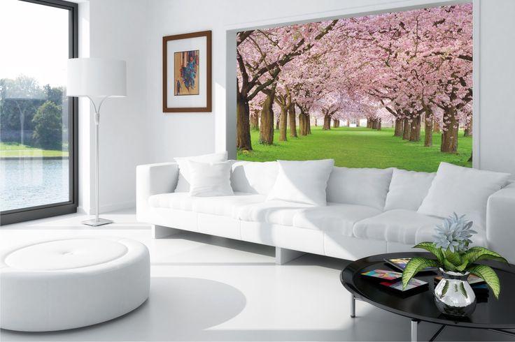 Na wspomnienie wiosny... http://mural24.pl/ #spring #wiosna #mural #mural24pl #fototapeta