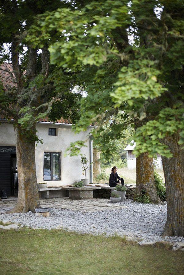 Beautiful Scandinavian interiors on Gotland Island