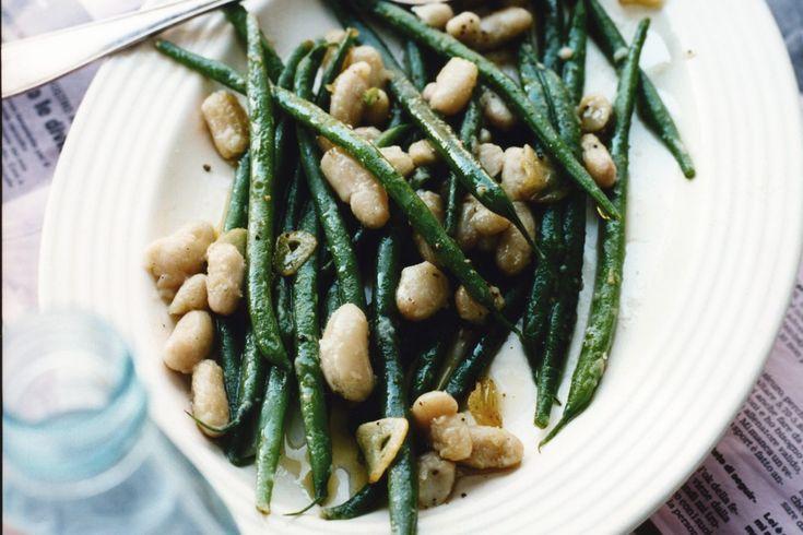 Recept från Zeta: Haricots verts med bönor och vitlök