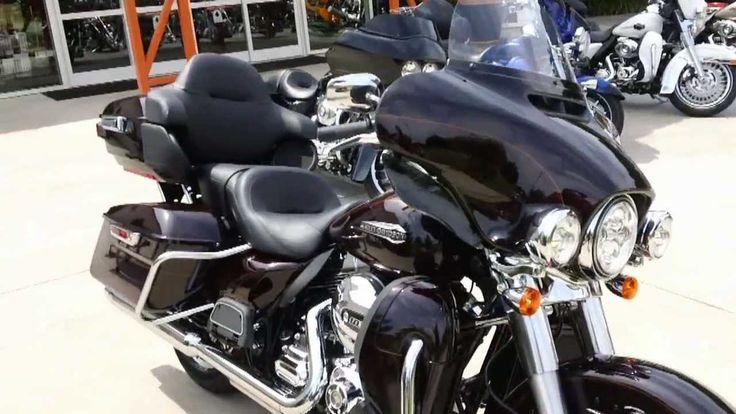 2014 Ultra Classic Harley-Davidson FLHTCU Burnt Cayenne Sunglo