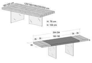 Il Tavolo Air Wildwood di Lago, è già un best seller.Il tavolo è disponibile in legno Wildwood naturale, grigio e in legno scuro. Il finale del top può essere a teste chiuse o rientranti con finitura in metacrilato in diversi colori. Air Wildwood è un tavolo che è stato progettato partendo dall'idea che dovesse avere un top in rovere vissuto. Si caratterizza per essere un tavolo caldo, ma la tempo stesso leggero grazie alle due gambe di cristallo quasi invisibili che sostengono il top, ...
