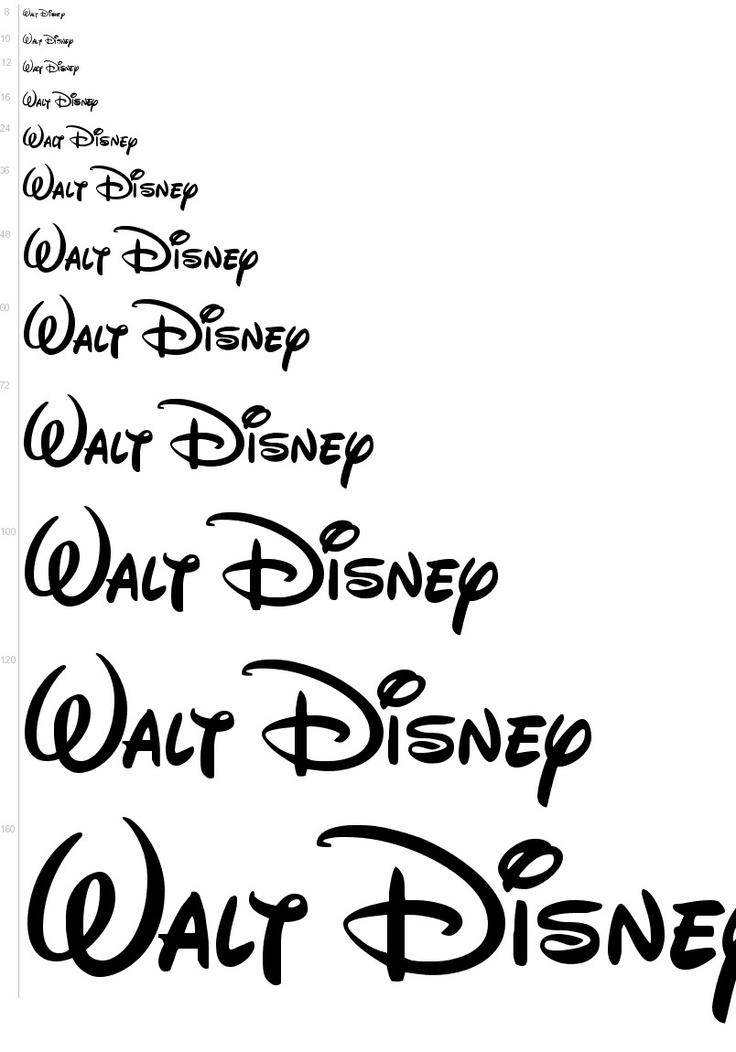Free Fonts - Walt Disney font | UrbanFonts.com @nic