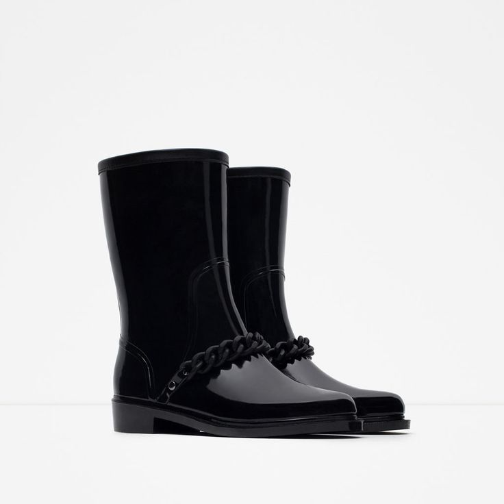 Image 2 of RAIN BOOTIES from Zara