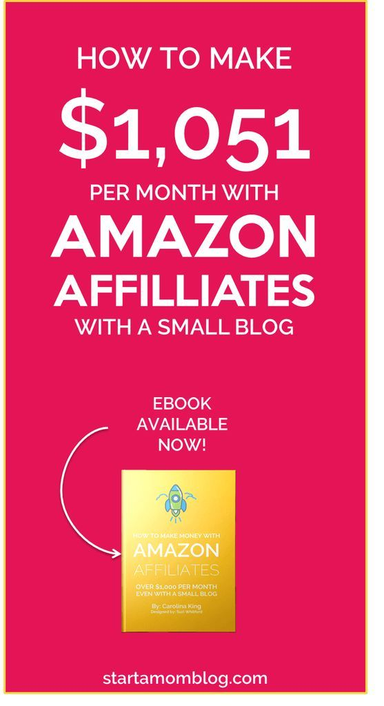 How to make money with Amazon Affiliates program as a blogger. Viral pin!!