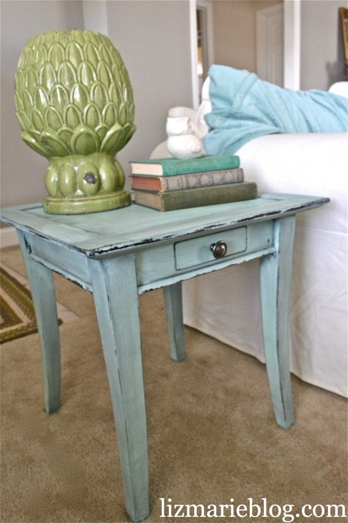 painted end table booth ideas pinterest