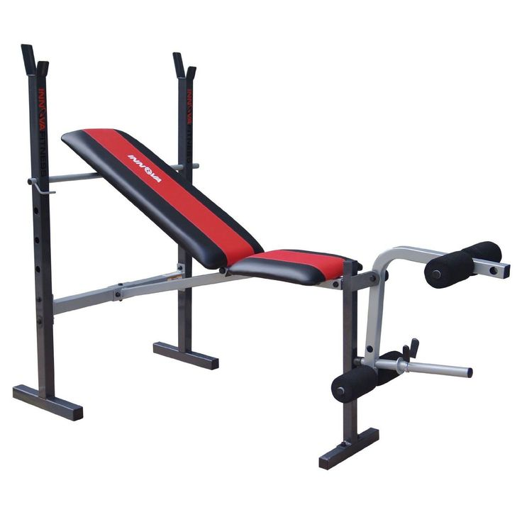 Adjustable Weight Bench Leg Lift Incline Decline Flat Workout Exercise  Fitness