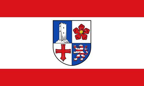 Flagge Kreis Bergstrasse - Kreis Bergstraße – Wikipedia
