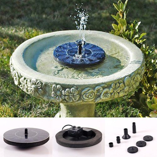 17 Best Ideas About Solar Powered Fountain Pump On