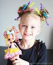 Resultado de imagen para peinados locos para niñas americanos