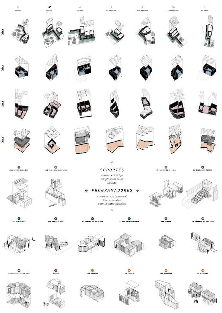 MICROTOPIAS - equipamientos compartidos en áreas rurales BY Ines Garcia de Paredes | Arquitectura - Landscape Architecture - Infrastructure - Transportable - Shared Spaces - Portable - Architecture in motion - Microtopia - Microtopias