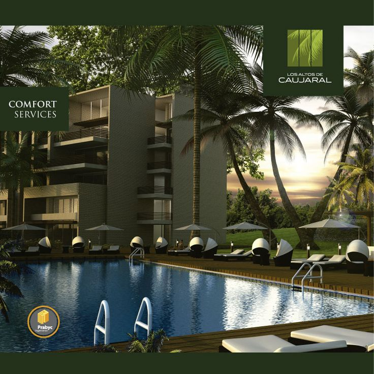 Un #proyecto con exclusivas zonas de descanso y entretenimiento, con #confort #services #apartamentos #Barranquilla #Dúplex #Penthouse #ArquitecturaBioclimática #Bioclimático #Oasis #mansión #natural #Club #ClubHouse #Colombia #arquitectura #diseñoarquitectonico #construcción #natural