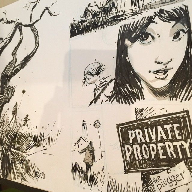 Image result for ashley wood sketches