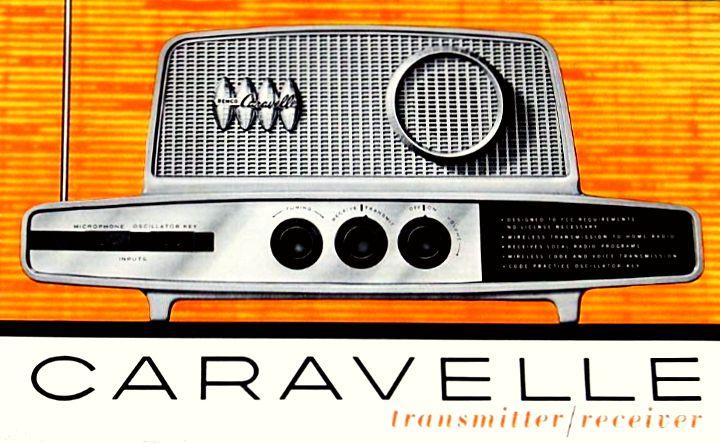 danismmRemco Caravelle Transmitter-Receiver 1962