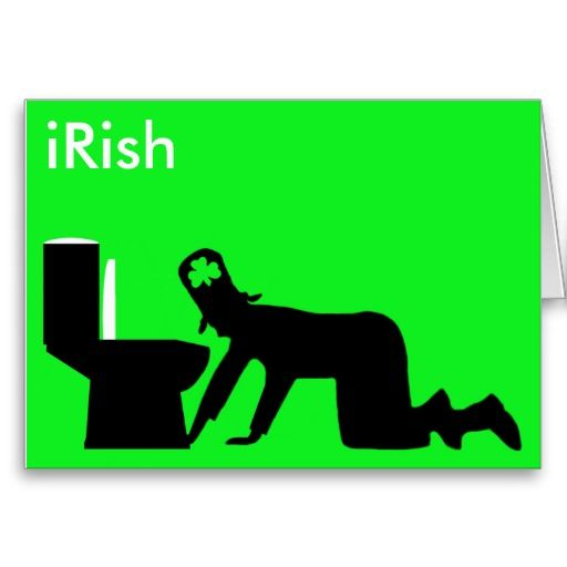 Funny Irish Greeting cards to send for any Irish person  either on St Patrick's Day or on their next birthday.