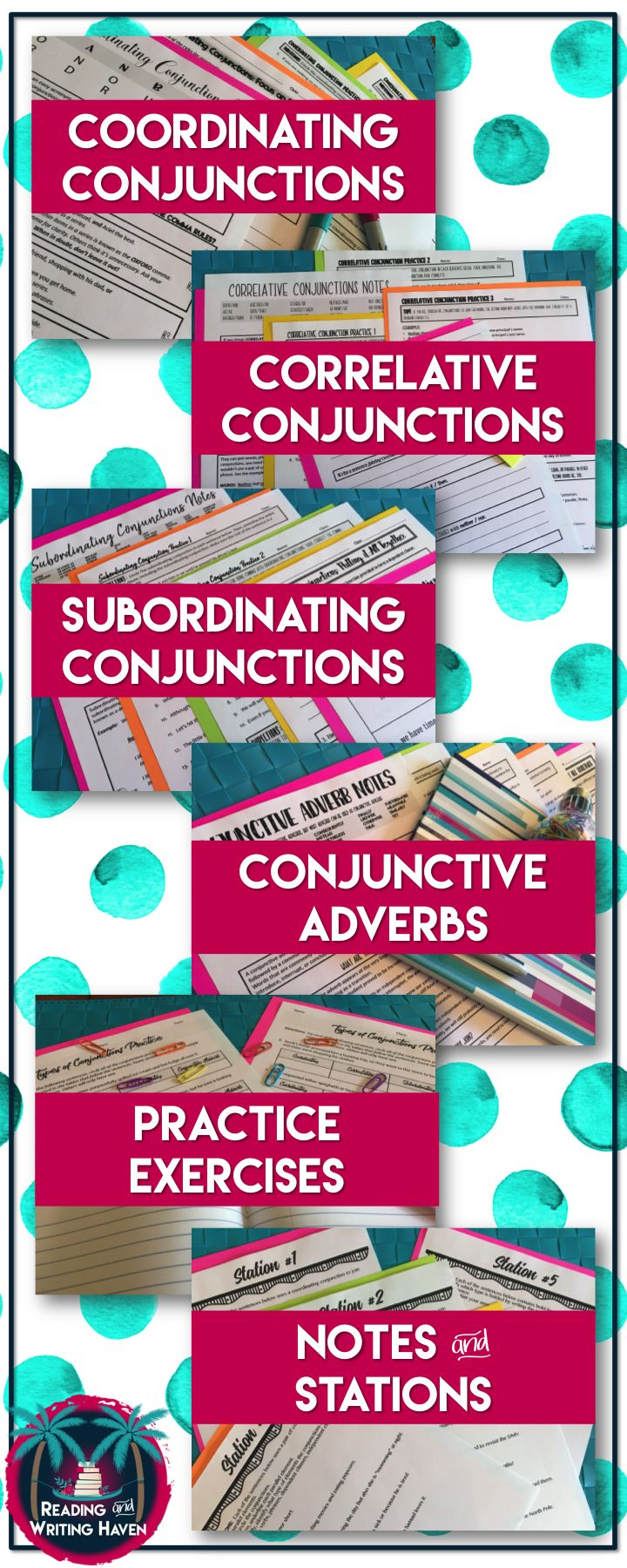 Poster design high school lesson - Teach Students How To Use The Four Types Of Conjunctions In Their Writing Coordinating
