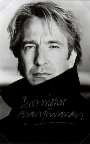 Looks much better in Sense & Sensibility than he does as Snape in Harry Potter. Great actor!