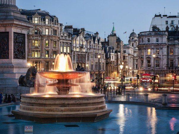 Трафальгарская площадь, Лондон, Великобритания