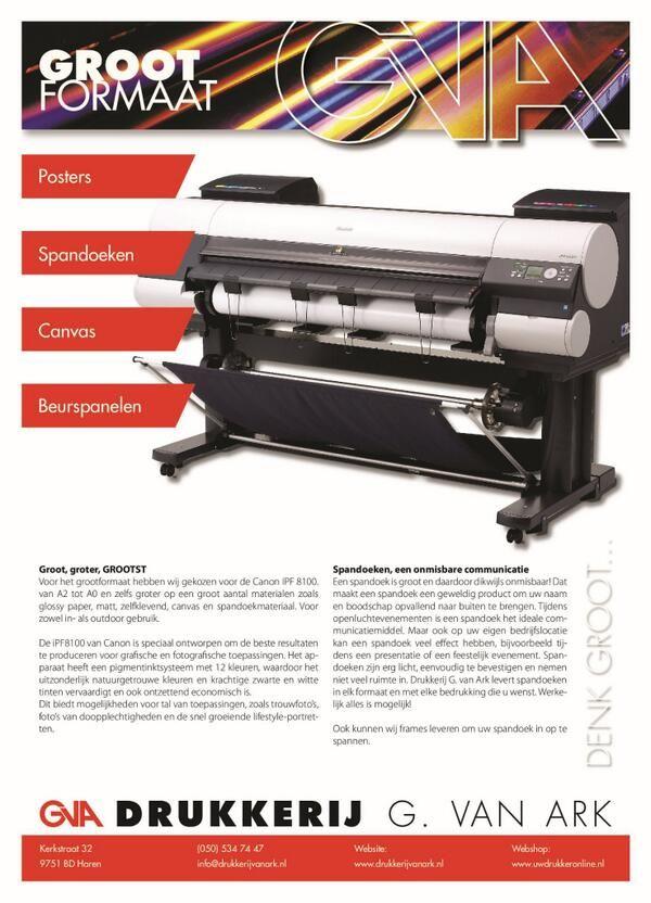 ons bedrijf is uitgerust met de beste print copiers van Canon. http://www.drukkerijvanark.nl/