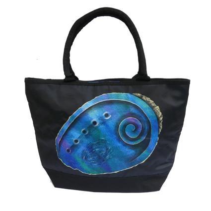Pretty Paua Shell Tote Bag