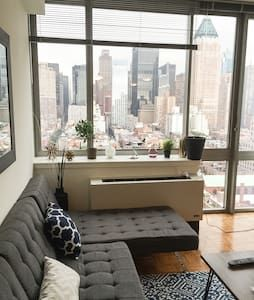 Check out this awesome listing on Airbnb: Spectactular Views 2 Bed Midtown High Rise - Apartments for Rent in New York