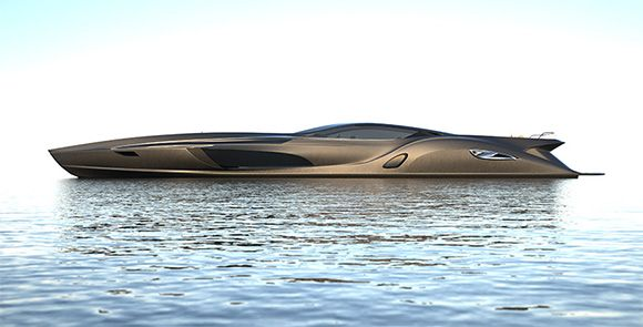 Super yacht, comes with car