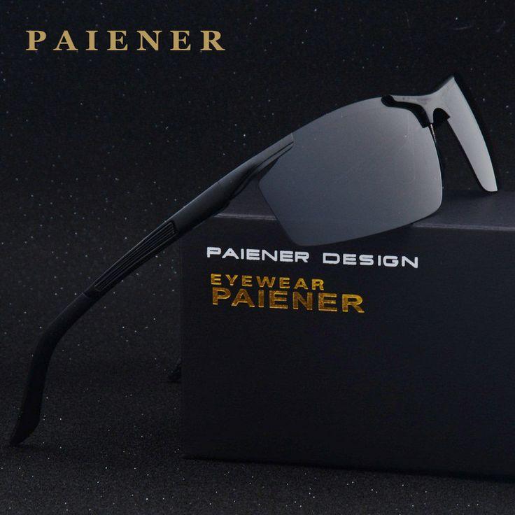Top Quality Fashion Polarized Sunglasses Original Brand Designer Sun Glasses man Polaroid Gafas De Sol Vintage Oculos for men #Affiliate
