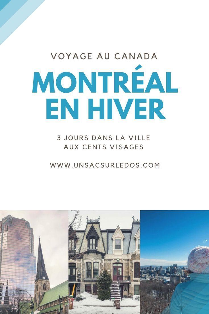 Montréal, une ville où mes pas m'ont déjà menée plusieurs fois… et dont je suis très loin d'avoir fait le tour! Tant à voir, faire, expérimenter, gouter, apprendre… Après notre dernier#roadtrip hivernal à travers le #Québec, voici nos retours d'expériences, conseils et coups de cœur pour découvrir #Montréal en #hiver. #Quebec #Canada #Amerique #citytrip #guide #voyage