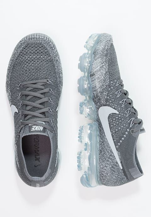 Nike Performance AIR VAPORMAX FLYKNIT - Neutral running shoes - dark grey/black/wolf grey/pure platinum for £174.99 (27/04/17) with free delivery at Zalando