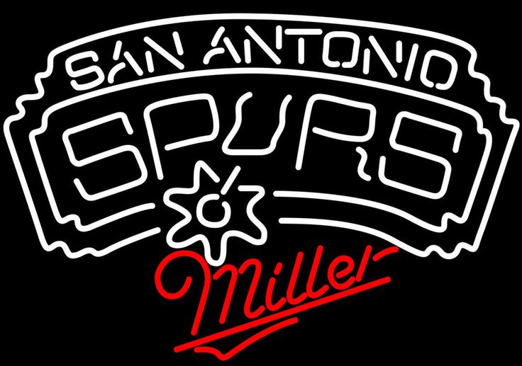 Miller San Antonio Spurs NBA Neon Sign, Miller with NBA Neon Signs | Beer with Sports Signs. Makes a great gift. High impact, eye catching, real glass tube neon sign. In stock. Ships in 5 days or less. Brand New Indoor Neon Sign. Neon Tube thickness is 9MM. All Neon Signs have 1 year warranty and 0% breakage guarantee.
