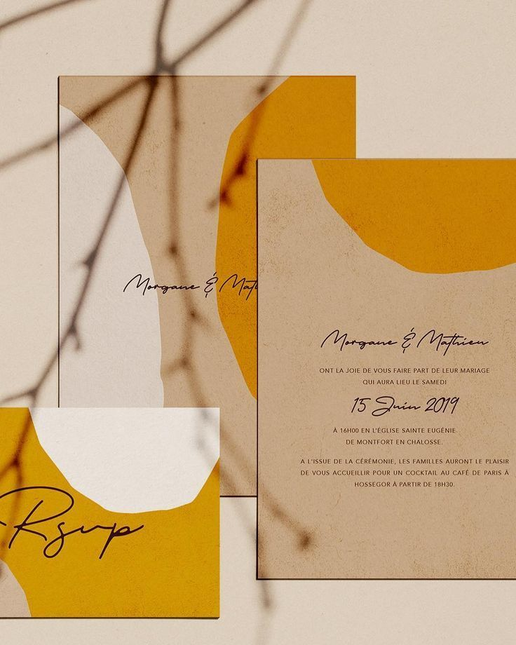 Mustard color combination, stationary design