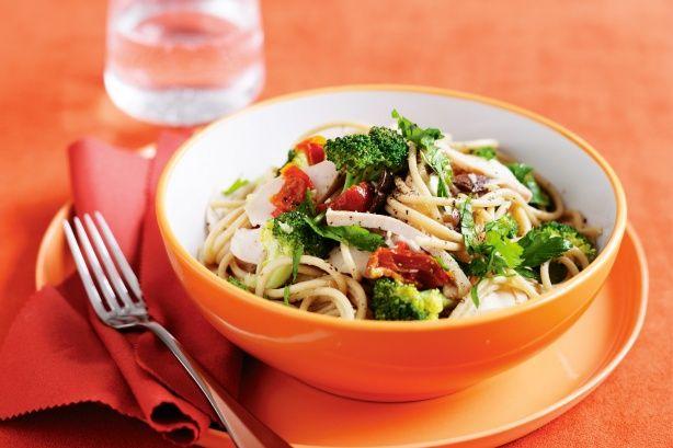 Smoked chicken and chilli pasta recipe @recipesfornet