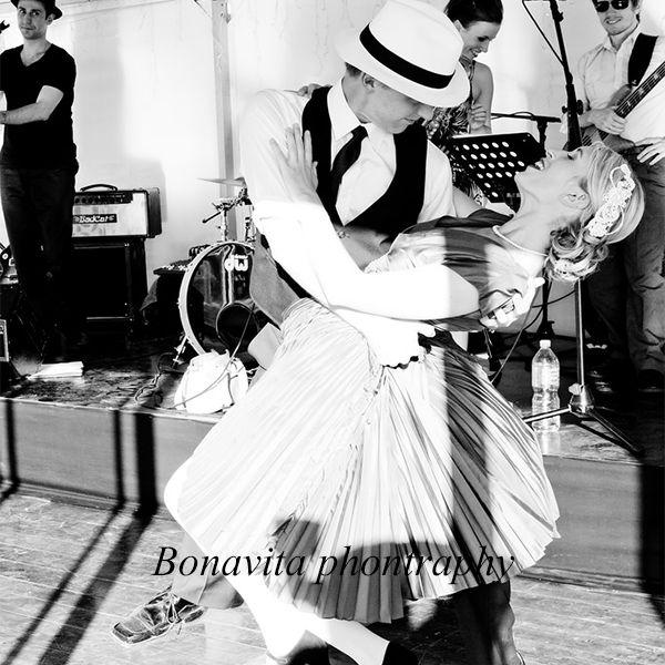 Real bride Claire - swing dance wedding!